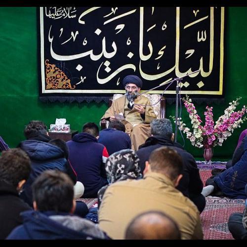 گزارش تصویری از سخنرانی استاد سیّدعباس موسوی مطلق در  ولادت حضرت زینب کبری سلام الله علیها