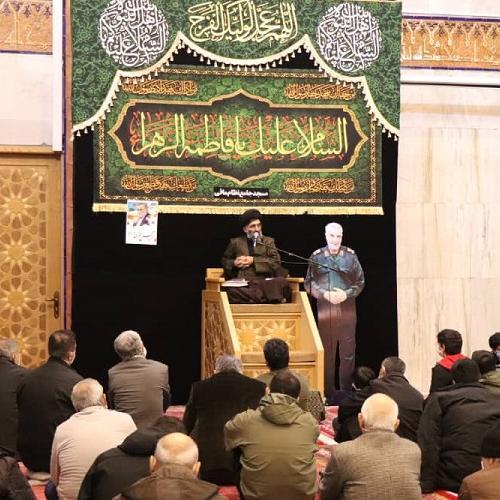 گزارش تصویری از سخنرانی استاد سیّدعباس موسوی مطلق در  ایام شهادت حضرت زهرا (علیها السلام) فاطمیه اول