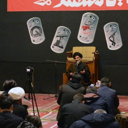 گزارش تصویری از درس اخلاق حجت الاسلام استاد سیّدعباس موسوی مطلق _ ۱۵ دی ۹۹ مسجد جامع قلهک