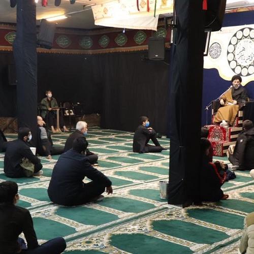 گزارش تصویری از سخنرانی استاد سیّدعباس موسوی مطلق در  شب اول ایام فاطمیه ۹۹