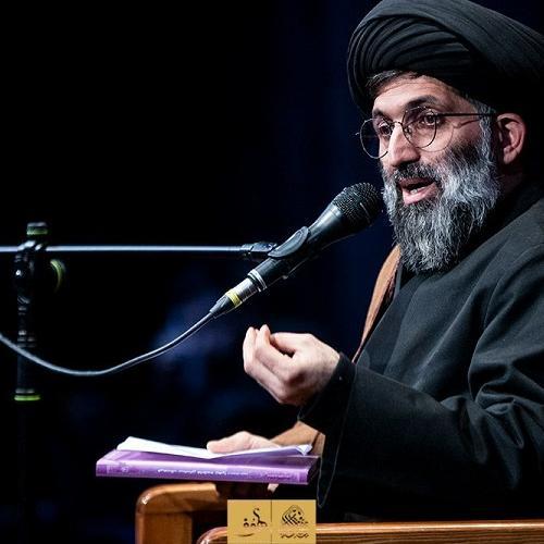 گزارش تصویری از سخنرانی استاد سیّدعباس موسوی مطلق در  شب اول فاطمیه ۹۹ - ریحانه الحسین (ع)