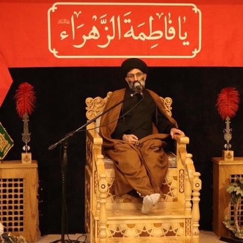 گزارش تصویری از سخنرانی استاد سیّدعباس موسوی مطلق در ایام فاطمیه ۹۹