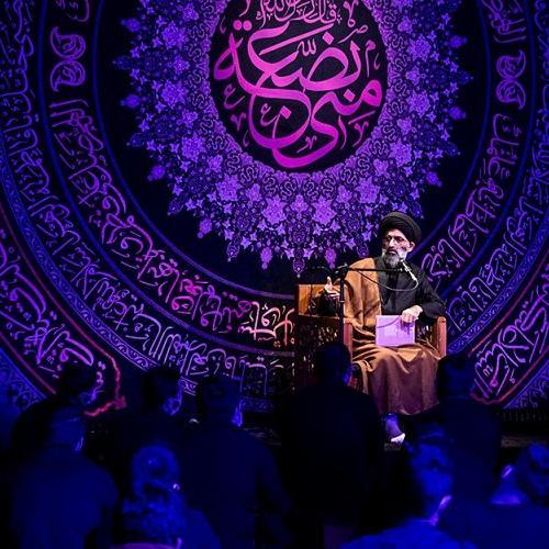 گزارش تصویری از سخنرانی حجت الاسلام موسوی مطلق در  شب سوم فاطمیه ۹۹ - ریحانه الحسین (ع)