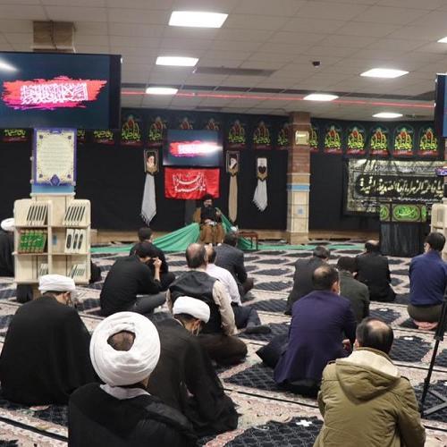 گزارش تصویری از سخنرانی حجت الاسلام موسوی مطلق در سازمان اوقاف و امور خیریه