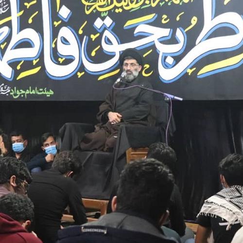 گزارش تصویری از سخنرانی استاد سیّدعباس موسوی مطلق در  ایام شهادت حضرت زهرا (علیها السلام) - علی آباد کتول