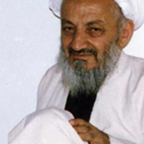 ملاقات حجت الاسلام موسوی مطلق با  استاد اخلاق آیت الله احمدی میانجی