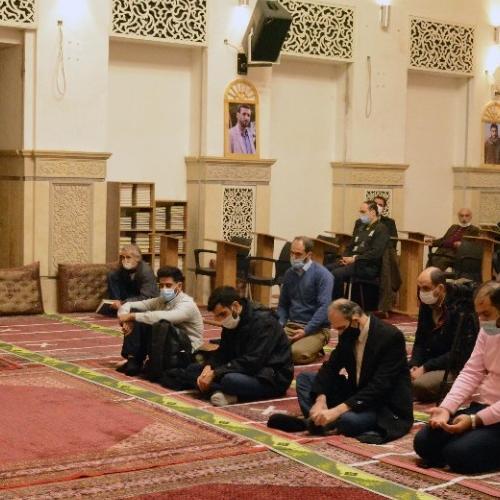 گزارش تصویری از درس اخلاق حجت الاسلام استاد سیّدعباس موسوی مطلق -  ۶ بهمن ۹۹ مسجد جامع قلهک