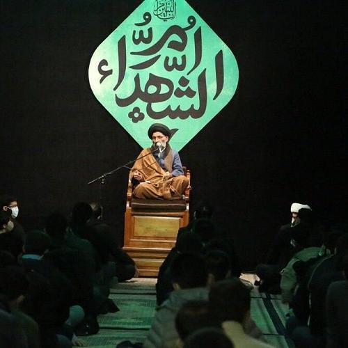 گزارش تصویری از سخنرانی استاد سیّدعباس موسوی مطلق در  وفات حضرت ام البنین (علیها السلام)