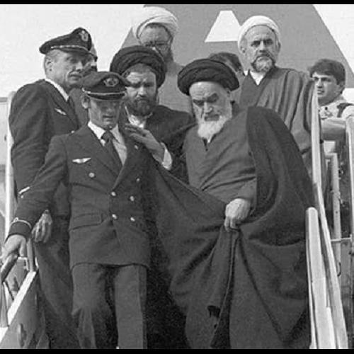 ورود امام خمینی به ایران همچون طلوع...