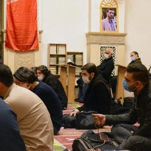 گزارش تصویری از درس اخلاق حجت الاسلام استاد سیّدعباس موسوی مطلق - ۱۳ بهمن ۹۹ مسجد جامع قلهک