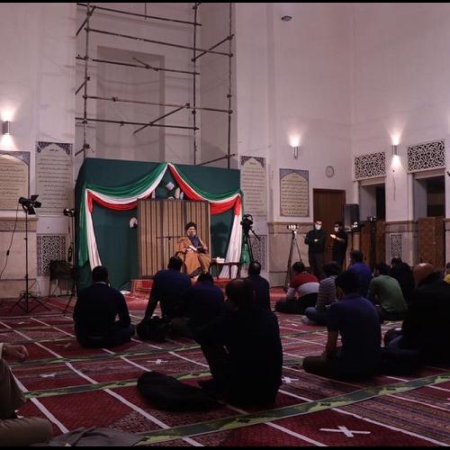 گزارش تصویری از درس اخلاق حجت الاسلام استاد سیّدعباس موسوی مطلق - ۲۰ بهمن ۹۹ مسجد جامع قلهک