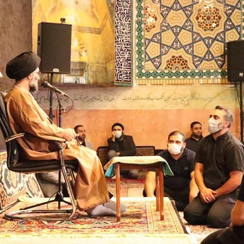 گزارش تصویری سخنرانی حجت الاسلام سیدعباس موسوی مطلق در وفات حضرت خدیجه کبری سلام الله علیها