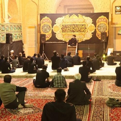 گزارش تصویری سخنرانی حجت الاسلام سیدعباس موسوی مطلق در احیای شب ۱۹ ماه رمضان ۱۴۰۰