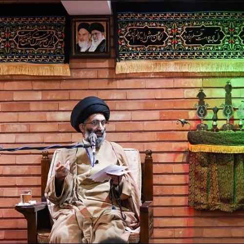 گزارش تصویری از درس اخلاق حجت الاسلام استاد سیّدعباس موسوی مطلق - ۲۷ اردیبهشت ۱۴۰۰
