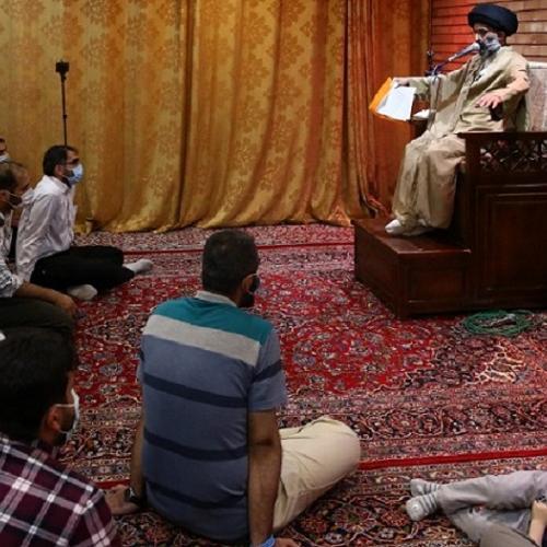 گزارش تصویری از درس اخلاق حجت الاسلام استاد سیّدعباس موسوی مطلق -  ۳ خرداد ۱۴۰۰