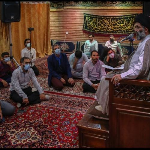 گزارش تصویری از درس اخلاق حجت الاسلام استاد سیّدعباس موسوی مطلق - ۱۰ خرداد ۱۴۰۰