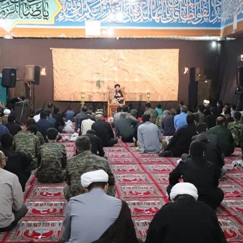 گزارش تصویری سخنرانی حجت الاسلام موسوی مطلق در شب شهادت امام صادق (علیه السلام)