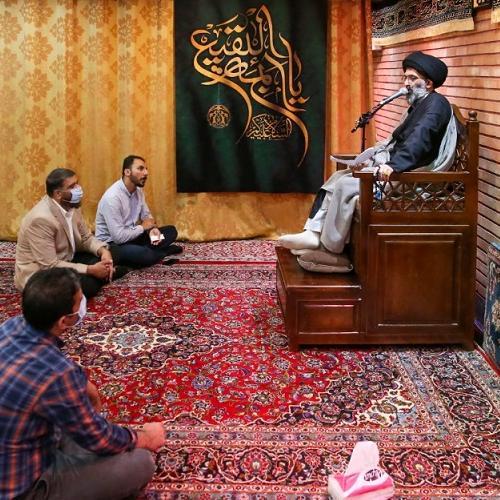 گزارش تصویری از درس اخلاق حجت الاسلام استاد سیّدعباس موسوی مطلق - ۱۷ خرداد ۱۴۰۰