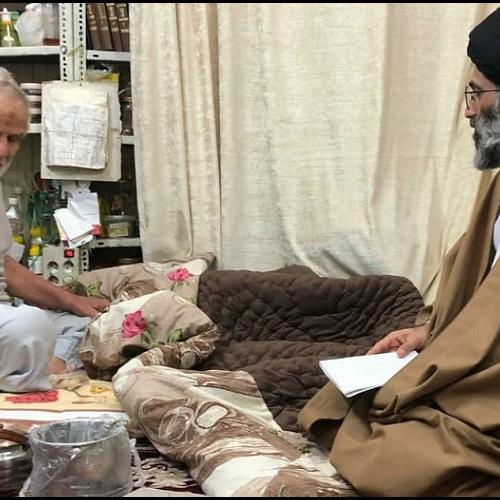 ملاقات حجت الاسلام موسوی مطلق با حاج غلامرضا شاطری