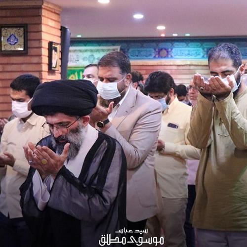گزارش تصویری از درس اخلاق حجت الاسلام استاد سیّدعباس موسوی مطلق - ۱۱ مرداد ۱۴۰۰