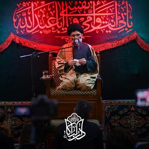 گزارش تصویری از جلسه سیاهپوشان محرم در روضه دارالبکاء فاطمة الزهرا سلام الله علیها