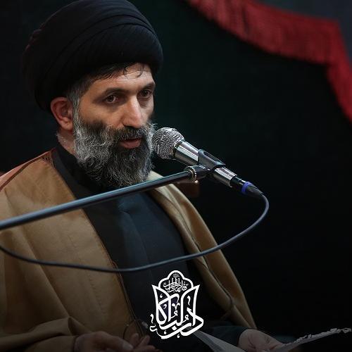 گزارش تصویری از سخنرانی حجت الاسلام سیّدعباس موسوی مطلق در روز چهارم محرم ۱۴۰۰