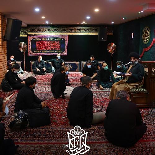 گزارش تصویری از سخنرانی حجت الاسلام سیّدعباس موسوی مطلق در روز پنجم محرم ۱۴۰۰