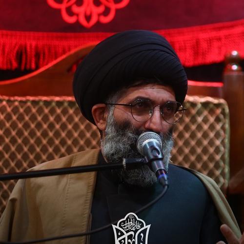 گزارش تصویری از سخنرانی حجت الاسلام سیّدعباس موسوی مطلق در روز هشتم محرم ۱۴۰۰
