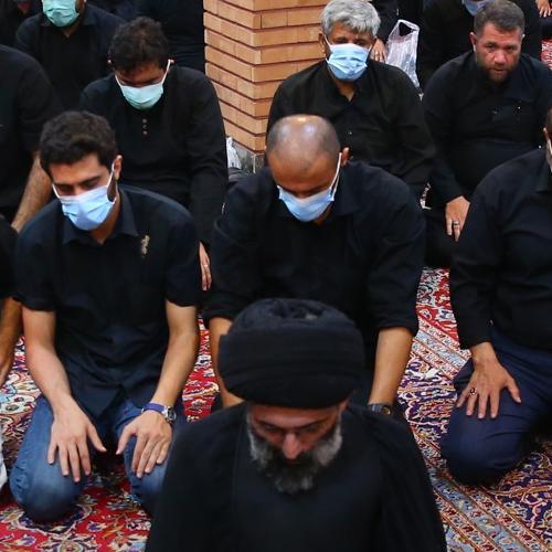 گزارش تصویری از سخنرانی حجت الاسلام سیّدعباس موسوی مطلق در روز تاسوعای حسینی ۱۴۰۰