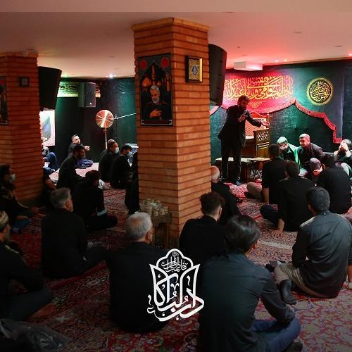 گزارش تصویری از سخنرانی حجت الاسلام سیّدعباس موسوی مطلق در روز عاشورای حسینی ۱۴۰۰