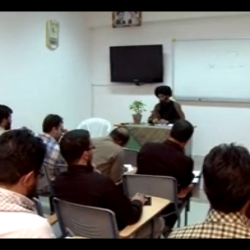 فایل تصویری سخنرانی استاد موسوی مطلق با موضوع هیأت سکولار