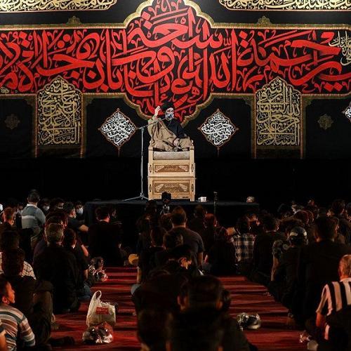 گزارش تصویری از سخنرانی حجت الاسلام موسوی مطلق در شهادت حضرت رقیه (س) - قزوین