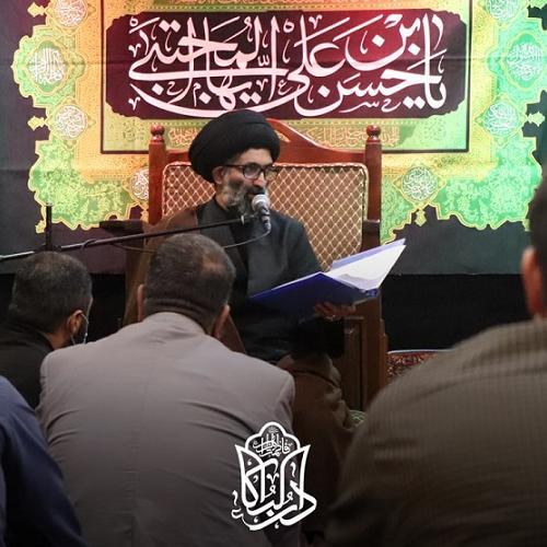 گزارش تصویری از درس اخلاق حجت الاسلام سیّدعباس موسوی مطلق - ۱۲ مهر۱۴۰۰